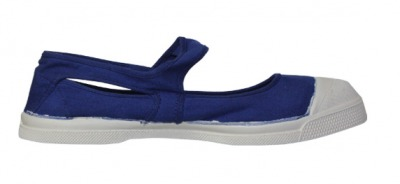 Ballerine Marie Jane Bleu Elect. S12 - bensimon shoes