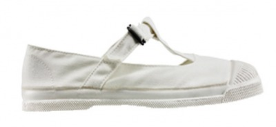 Ballerine Salome Blanc S11 - bensimon shoes
