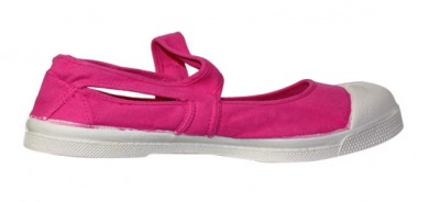 Ballerine Marie Jane Rose Vif S12 - bensimon shoes