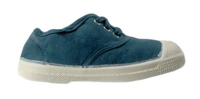 ennis Lacet Turquoise F11 - bensimon shoes