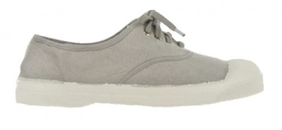 Tennis Lacet Gris Clair S10 - bensimon shoes