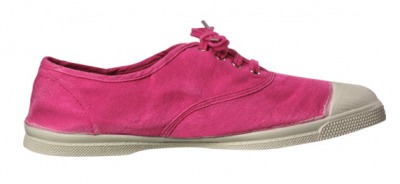 Tennis Lacet Rose Vif S12 - bensimon shoes