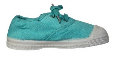 Tennis Lacet Turquoise S12 - bensimon shoes