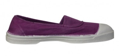 Tennis Elastique Violine S12 - bensimon shoes