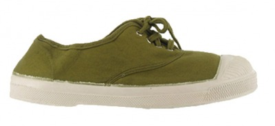 Tennis Lacet Olive F9 - bensimon shoes