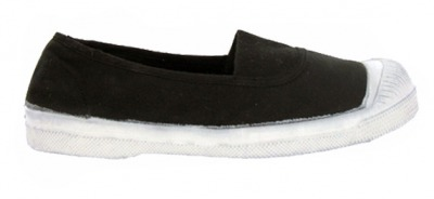 Tennis Elastique Charbon F10 - bensimon shoes