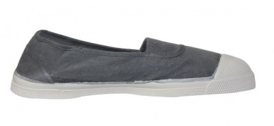 Tennis Elastique Gris Moyen S12 - bensimon shoes