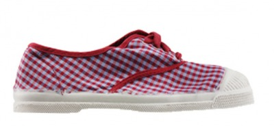 Tennis Vichy Rouge S11 - bensimon shoes