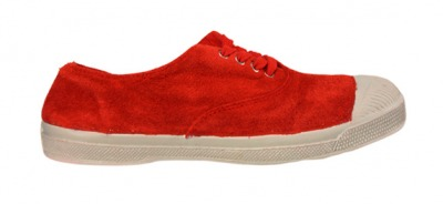 Tennis Suede Rouge S11 - bensimon shoes