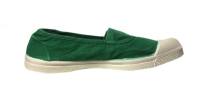 Tennis Elastique Menthe S12 - bensimon shoes