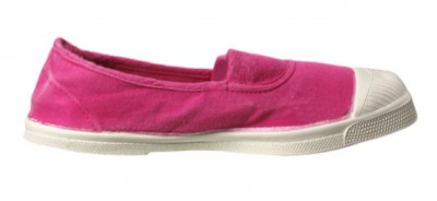 Tennis Elastique - Rose Vif S12 - bensimon shoes