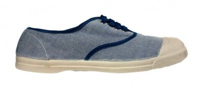 Tennis Oxford Bleu S11 - bensimon shoes