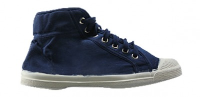 Tennis Mid Indigo S11 - bensimon shoes