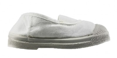 Tennis Elastique Blanc F11 - bensimon shoes