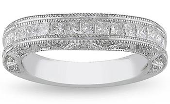 Luxury Jewelry 18k White Gold Women S 1ct Tdw Diamond Curved