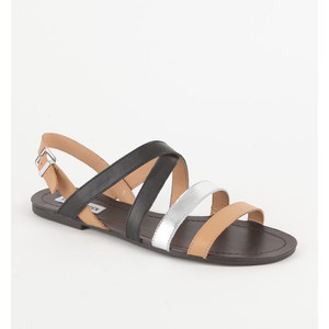 Steve Madden Strikka Sandals - Women's Flat Sandals | Sandalebi | სანდალები