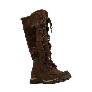 Skechers  Women's Grand Jams- Quilts   Chocolate - Women's Boots