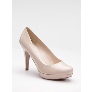 Prada Patent Leather Pumps - Women's Platform Pumps | Platformebi | პლატფორმები