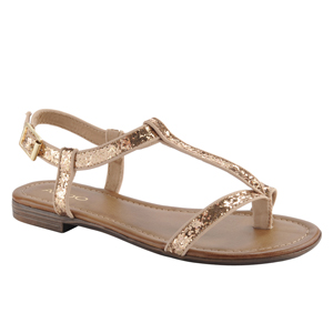 BERGER - Women's Flat Sandals | Sandalebi | სანდალები