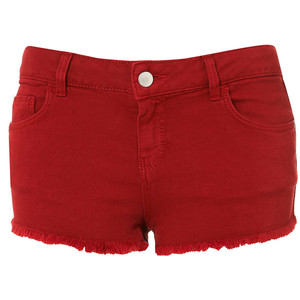 MOTO Cherry Denim Hotpants - shorts | shortebi | შორტები