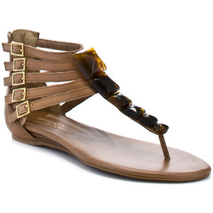 Jessica Simpson Demeter - Light Taupe - Women's Flat Sandals | Sandalebi | სანდალები