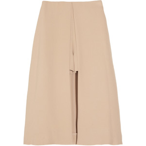 Chloé Skirt-effect silk shorts - shorts | shortebi | შორტები