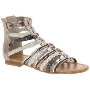 d00817299a6f Women s Flat Sandals - Call It Spring Howman Gladiator Sandals Pewter