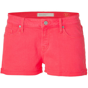 MARC BY MARC JACOBS Lava Red Slouchy Boyfriend Shorts - shorts | shortebi | შორტები