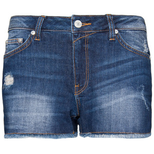 Frayed Denim Shorts - shorts | shortebi | შორტები