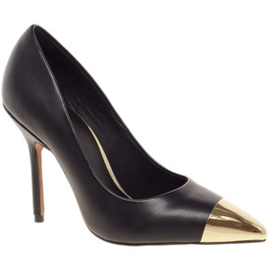 Asos Pluto Pointed High Heels With Metal Toe Cap - Women's Platform Pumps | Platformebi | პლატფორმები