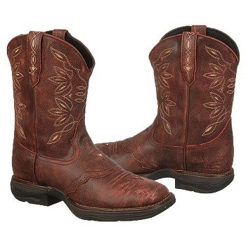 Laredo  Women's 5917   Red Crackle Goat/Tan - Women's Boots