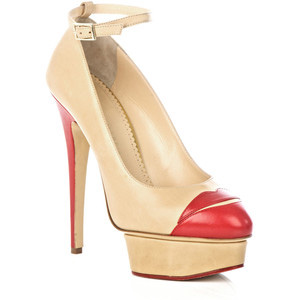 Charlotte Olympia Kiss me Dolores shoes - Women's Platform Pumps | Platformebi | პლატფორმები