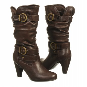 White Mountain  Women's Good Day   Brown - Women's Boots