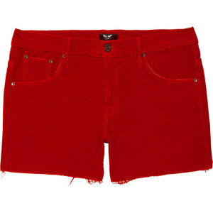 Mother The Skinny Not Skinny stretch-corduroy shorts - shorts | shortebi | შორტები