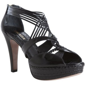 Prada Black Platform Pumps - Women's Platform Pumps | Platformebi | პლატფორმები