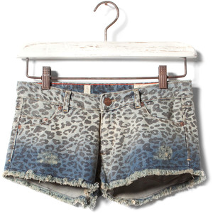 Pull & Bear Graded Denim Shorts - shorts | shortebi | შორტები