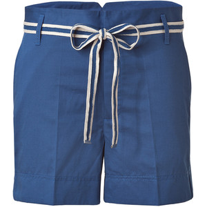 MARC BY MARC JACOBS Blue Cotton-Linen Shorts - shorts | shortebi | შორტები