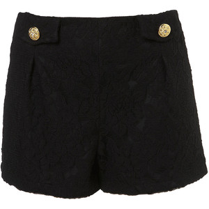Lace Button Shorts by Rare - shorts | shortebi | შორტები