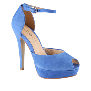 Women's Platform Pumps - qalis cisferi fexsacmeli - Blue pumps ...