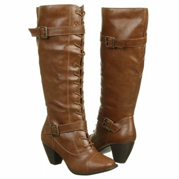 JELLYPOP  Women's Liberia   Cognac Smooth - Women's Boots