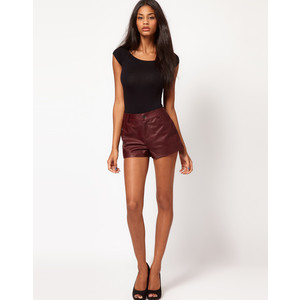 Asos Leather Shorts - shorts | shortebi | შორტები