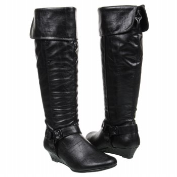 Hot Kiss  Women's Ryann   Black - Women's Boots