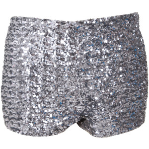 Glamorous Sequin Cut Off Shorts - shorts | shortebi | შორტები