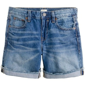 Denim short in faded indigo - shorts | shortebi | შორტები