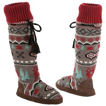 Muk Luks  Women's Angie Retro Nordic   Winter Mint - Women's Boots