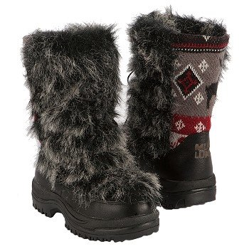 Muk Luks  Women's Massak Snow Boot   Grey - Women's Boots