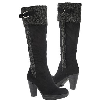 Naturalizer Women s Trinity Wide Calf Black - Women s Boots