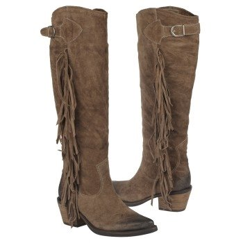 CARLOS BY CARLOS SANTANA  Women's Ringo   Taupe Leather - Women's Boots