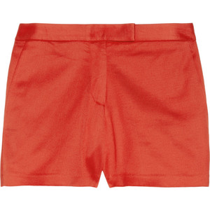 T by Alexander Wang Stretch-twill shorts - shorts | shortebi | შორტები