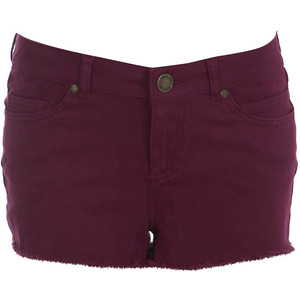 Purple Denim Short - shorts | shortebi | შორტები